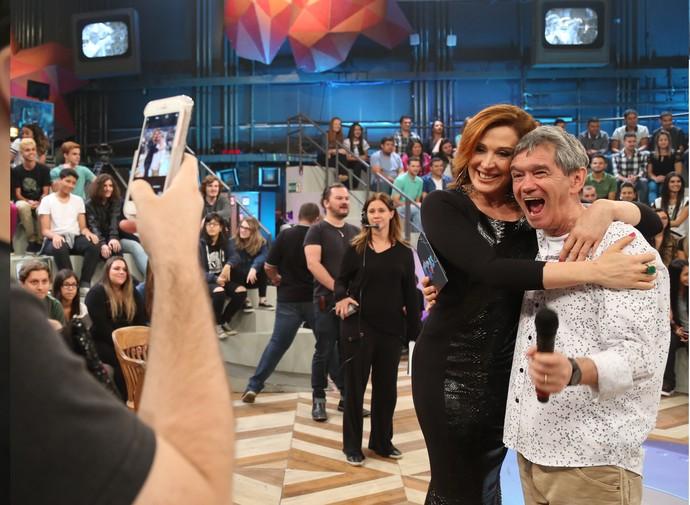 Claudia Raia e Serginho (Foto: Carol Caminha/Gshow)