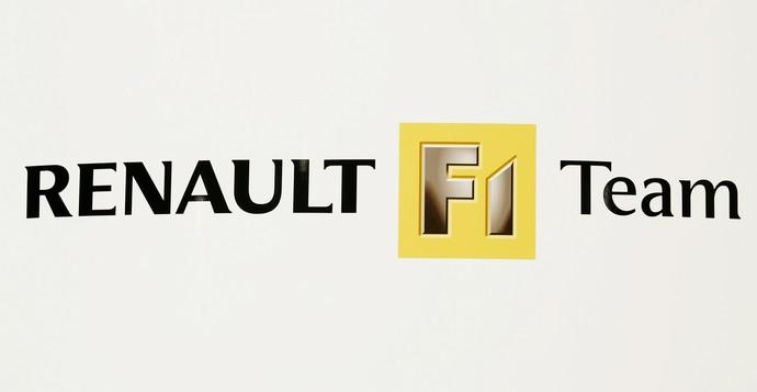 Marca da equipe de Fórmula 1 da Renault  (Foto: Getty Images)