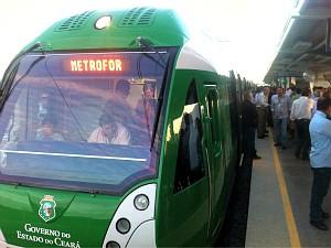 Viagens de teste serão diárias com transporte gratuito de passageiros.  (Foto: Governo do Estado/Divulgação)