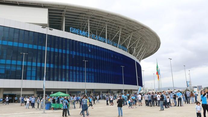 Arena do Grêmio - Grêmio x Flamengo (Foto: Eduardo Moura)
