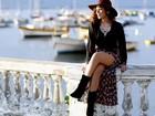 Roberta Almeida, de 'Em família', mostra tendência para o inverno em ensaio de moda para o EGO