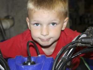 Chase Kowalski, 7 anos, adorava andar de bicicleta (Foto: Reuters)