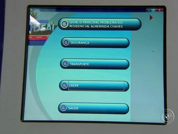 Bairro Ideal em Jundiaí (Foto: Reprodução TV TEM)