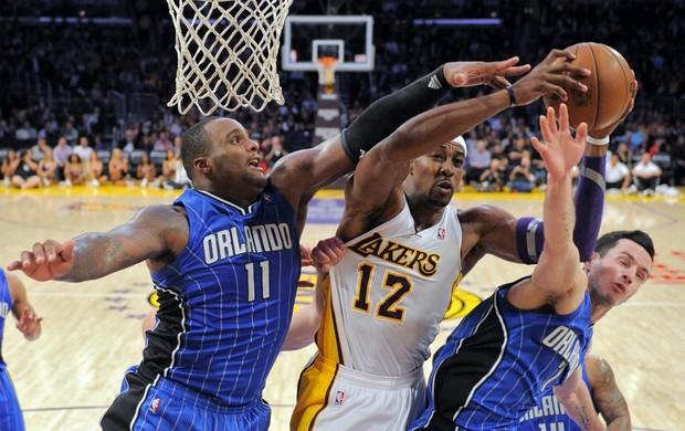 Dwight Howard Lakers NBA basquete (Foto: AP)