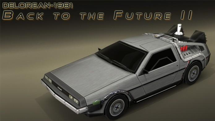 Clássico carro da série de filmes De Volta para o Futuro poderá circular na sua cidade de SimCity (Foto: Reprodução/Simtropolis)
