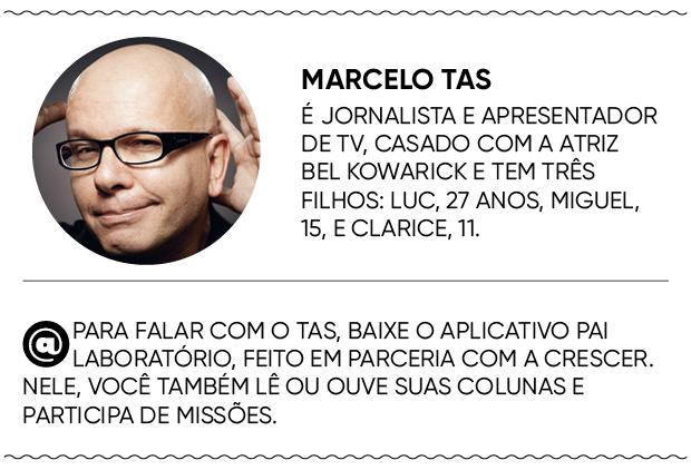 Marcelo Tas (Foto: Daniela Tovianski / Editora Globo)