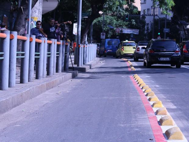 Ciclovia entre Laranjeiras e Cosme Velho está com inauguração prevista para agosto (Foto: Divulgação/Alerj)