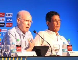 Zagallo Coletiva Sorteio Copa do Mundo  (Foto: Leandro Canônico)