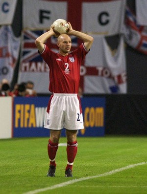Danny Mills inglaterra copa do mundo 2002 (Foto: Agência Getty Images)