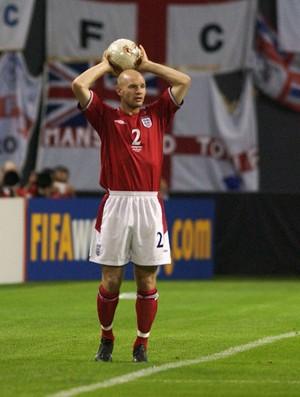 Danny Mills inglaterra copa do mundo 2002 (Foto: Agência Getty Images)