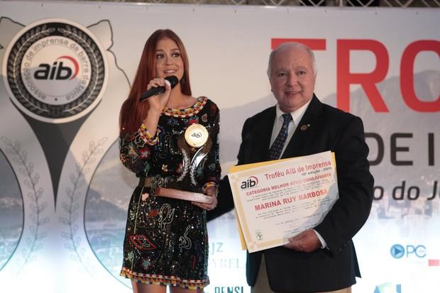 Marina Ruy Barbosa  (Foto: Isac Luz/EGO)