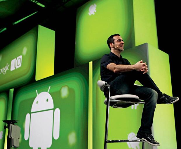 O brasileiro Hugo Barra, ex-Google: sua contratação deu credibilidade às ambições da Xiaomi (Foto: Marcio Jose Sanchez / AP)