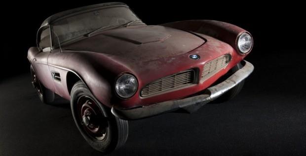 BMW 507 de Elvis Presley (Foto: Divulgação/BMW)