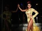 Ousada! Thais Bianca dispensa calcinha em lançamento de ensaio nu