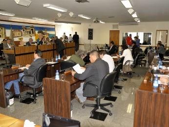 Plenário da Câmara Municipal de Curitiba (Foto: Divulgação/CMC/Anderson Tozato)
