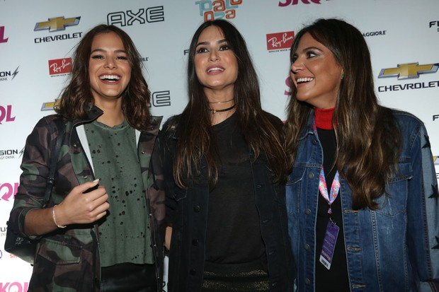 Bruna Marquezine, Thaila Ayala e Carol Sampaio (Foto: Celso Tavares/EGO)