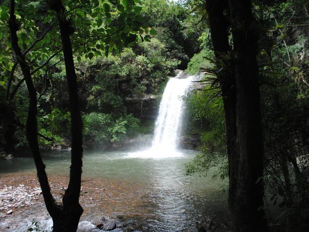 Cascata do Garapiá, em Maquiné, no Litoral Norte do RS (Foto: Divulgação/Prefeitura Maquiné)