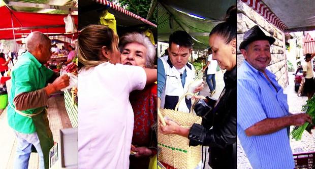 Globo Repórter mostra os diferentes aspectos da vida dos feirantes brasileiros (TV Globo)