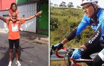 Carateca, Maurício faz surdez virar estímulo para treinar, correr e pedalar