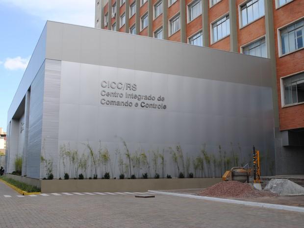 CICC está instalado na sede da SSP/RS em Porto Alegre (Foto: Alan Cardoso/SSP-RS)