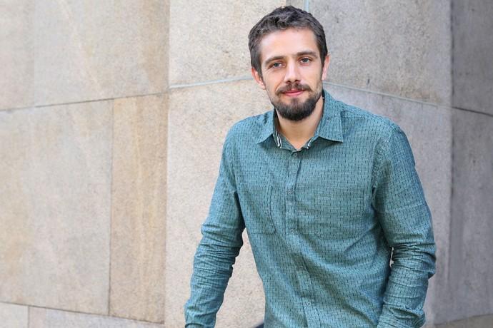 Rafael Cardoso será o vilão César (Foto: Carol Caminha/Gshow)