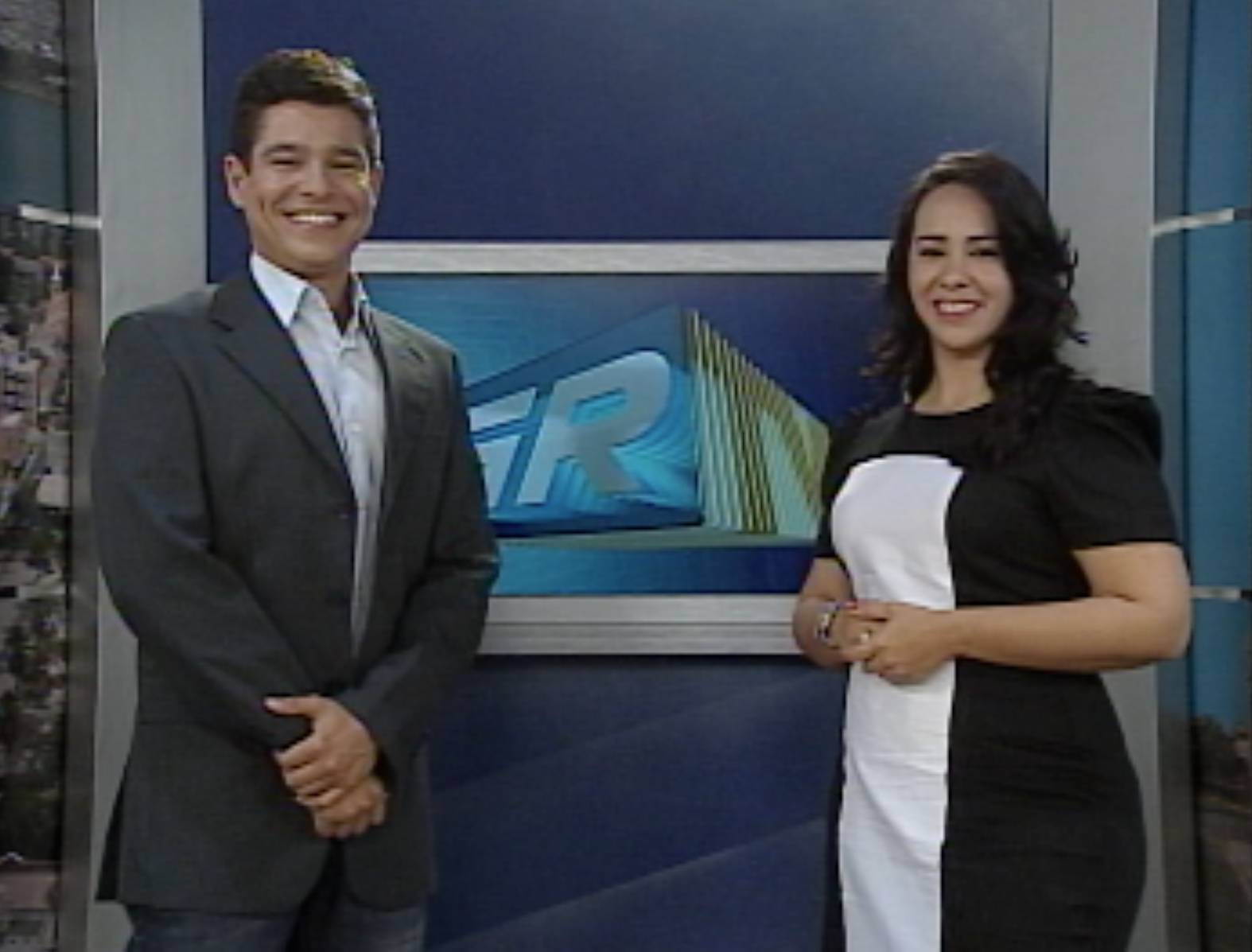Bancada GRTV 1ª edição (Foto: Divulgação TV Grande Rio)