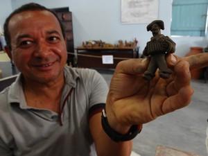 É ter o contato com a história da minha terra, diz José Pinheiro  (Foto: Thays Estarque/ G1)