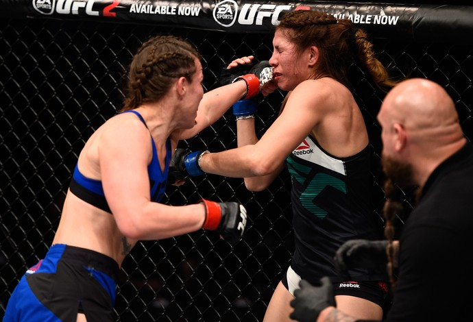 Leslie Smith Irene Aldana UFC Sacramento (Foto: Getty Images)