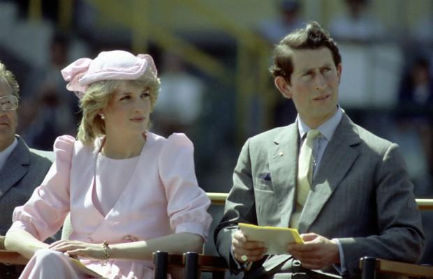 Princesa Diana e Príncipe Charles (Foto: Getty)