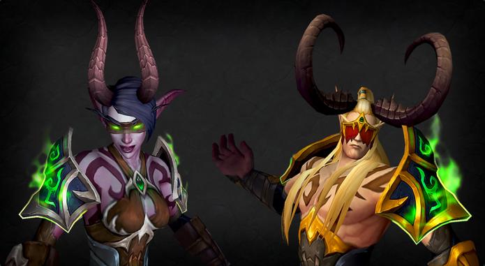 World of Warcraft Legion terá Caçadores de Demônio (Foto: Divulgação/Blizzard)