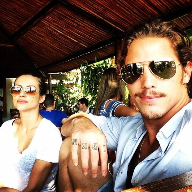Cleo Pires e Rômulo Neto (Foto: Reprodução/Instagram)
