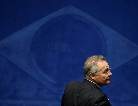 O presidente do Senado Renan Calheiros (Foto: Ueslei Marcelino / Reuters )