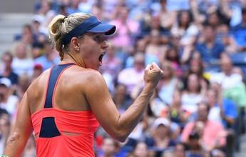 Kerber coroa liderança do ranking com título do US Open sobre Pliskova