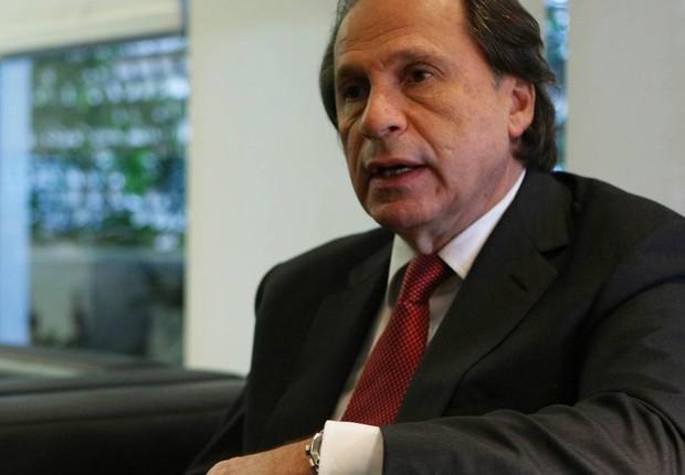 Benjamin Steinbruch, da Companhia Siderúrgica Nacional (CSN) (Foto: Michel Filho/Agência O Globo/Arquivo)