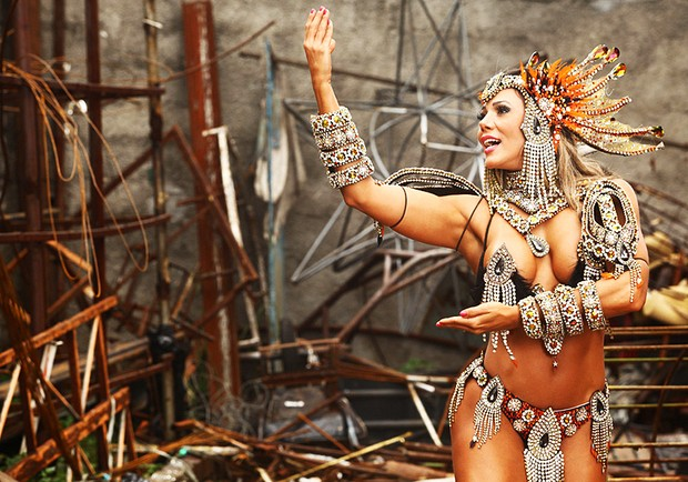 Carnaval - Fabiana Teixeira, ex-BBB, posa para o EGO (Foto: Iwi Onodera/EGO)