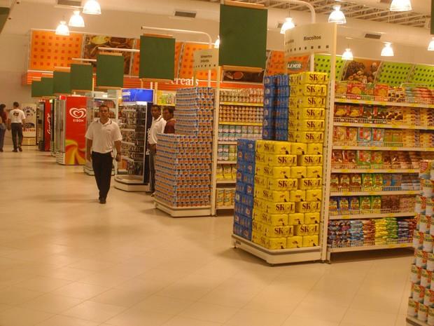 Supermercado Líder Belém (Foto: Neldson Neves/O Liberal)