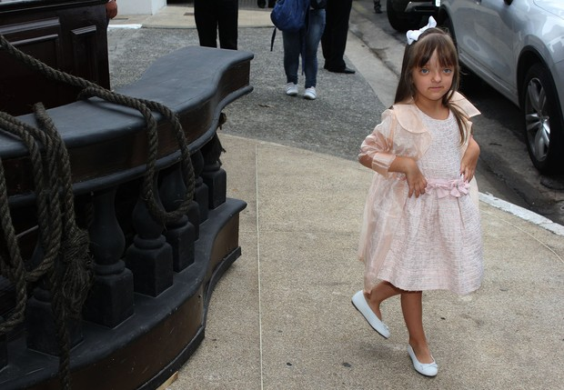 Rafaella Justus no aniversário de Lorenzo (Foto: Celso Tavares / EGO)