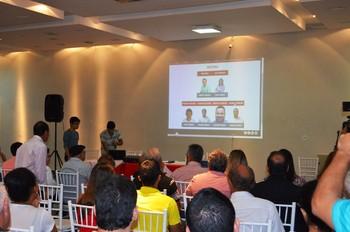 Lançamento do site oficial do Rio Branco-AC (Foto: Duaine Rodrigues)