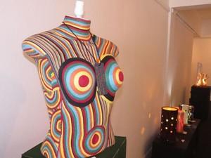 Exposição de artesanato no Centro de Cultura (Foto: Divulgação/FCTP/PMP)