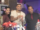Naldo recebe amigos e famosos para lançar novo clipe no Rio