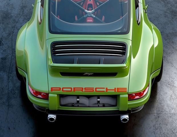 A traseira de Porsche 911 Singer  (Foto: Reprodução)