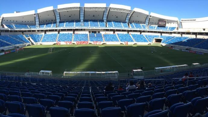 América-RN x Salgueiro Arena das Dunas TR (Foto: Cassius Andrey/GloboEsporte.com)