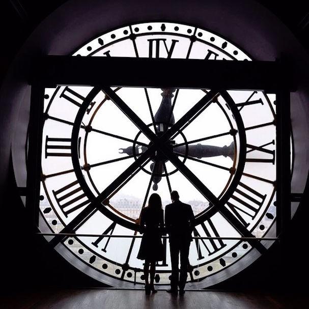 A vista do Musée d'Orsay (Foto: Reprodução Instagram)