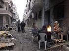 Começa retirada de rebeldes sírios do centro de Homs