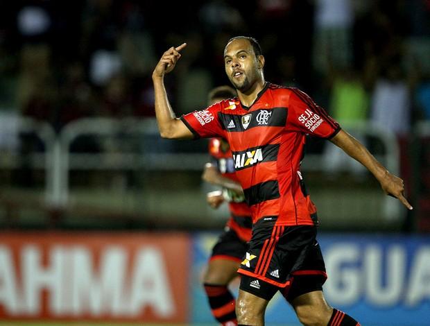Alecsandro comemoração Flamengo contra Resende (Foto: Cleber Mendes / Lancepress!)