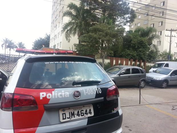 Casal é morto por genro após briga com a mulher, em Campinas (Foto: Luciano Calafiori / G1)