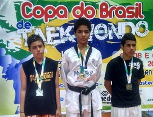 Cearenses conquistam oito medalhas na Copa do Brasil de taekwondo  (Foto: Fábio Ronin/Arquivo Pessoal )