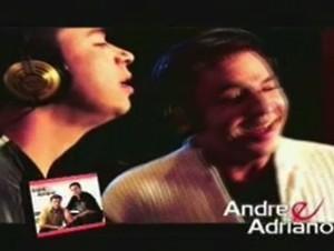 Dupla sertaneja André e Adriano (Foto: Reprodução/TV Anhanguera)