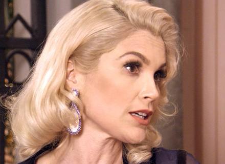 Sandra revela que vai sequestrar o filho de Candinho