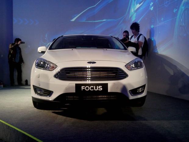 Ford Focus renovado (Foto: Peter Fussy / G1)